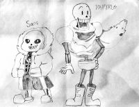 sans and PAPYRUS !
